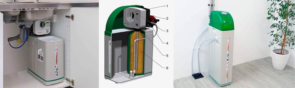 descalcificador de agua domestico
